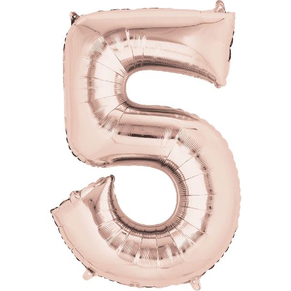 5 oro rosa