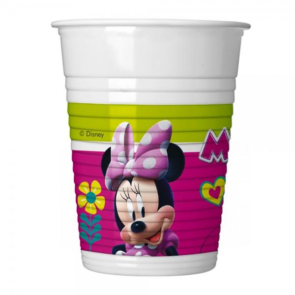 vasos minnie mouse pack de 8