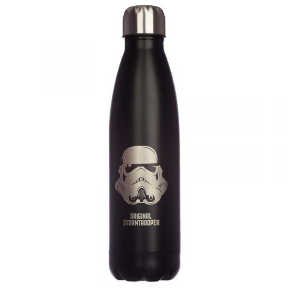 Botella térmica Star Wars Soldado Imperial Negro