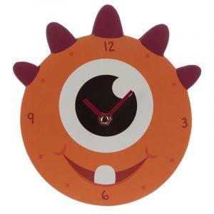 reloj monstruo naranja
