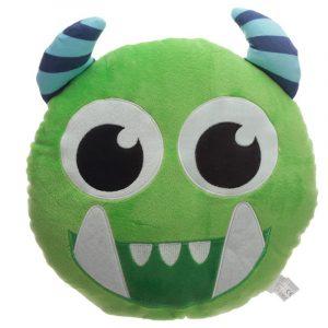 Cojín monstruo verde