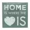Lienzo decorativo Home is where the love is