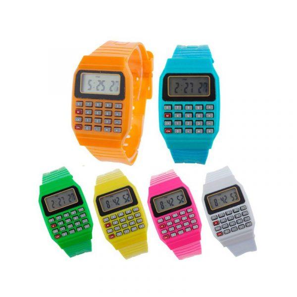 reloj digital y calculadora 1